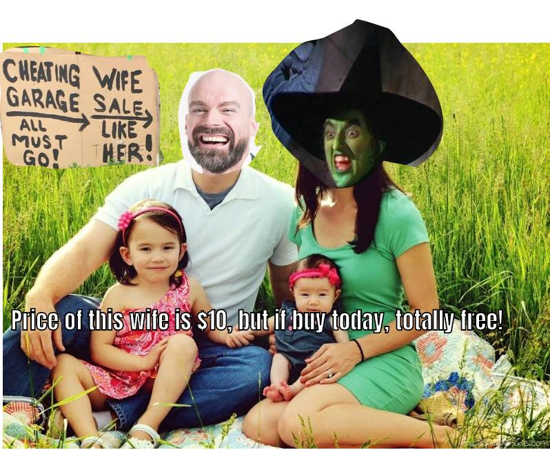 Bald Guy and Wicked Witch of the West's 2020 spring family picture