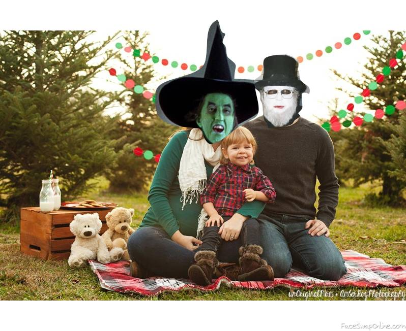 Wicked Witch of The West And Dr Creep's Family Picture