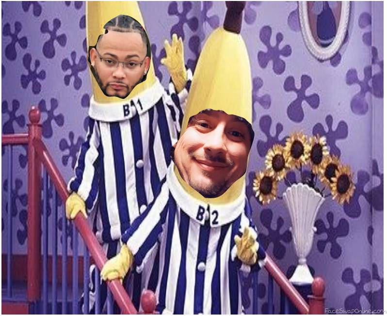 Bananas In Pyjamas (hideous!)
