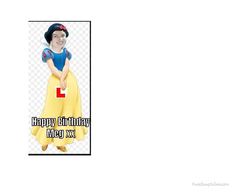 Happy Birthday Meg