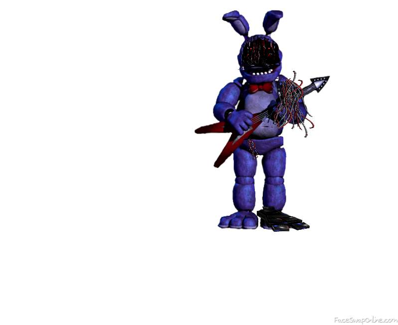 Withered Classic Bonnie FNAF