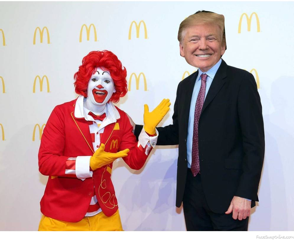 what if trump was ceo of mcdonald's