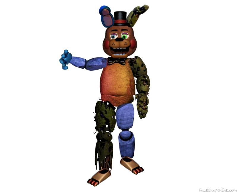 Hybrid Animatronic (  with parts of FNAF 1 FNAF 2 FNAF 3)
