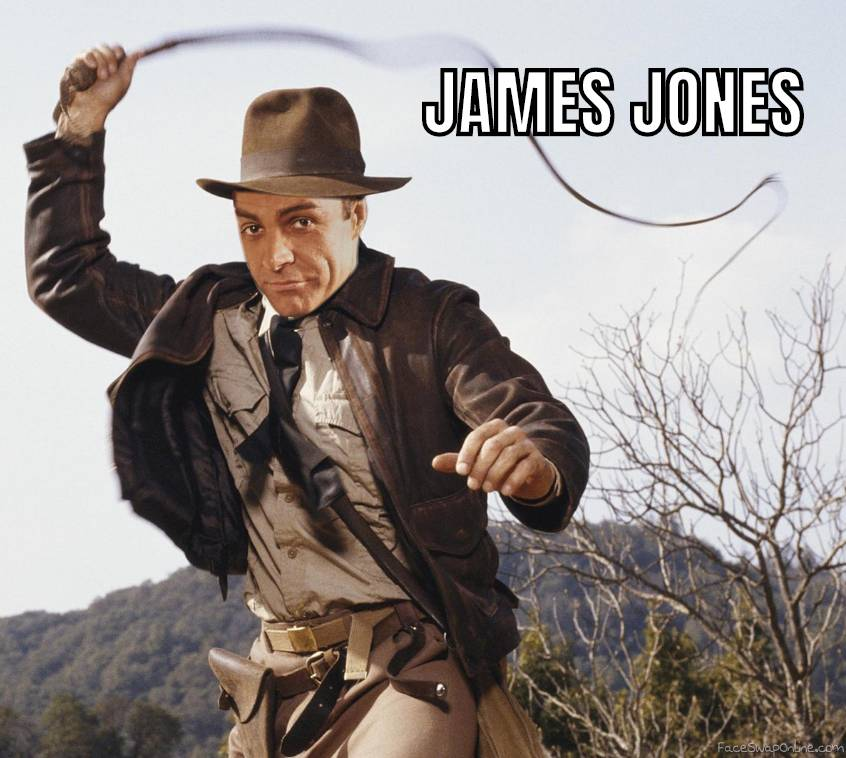 James Bond as Indiana Jones