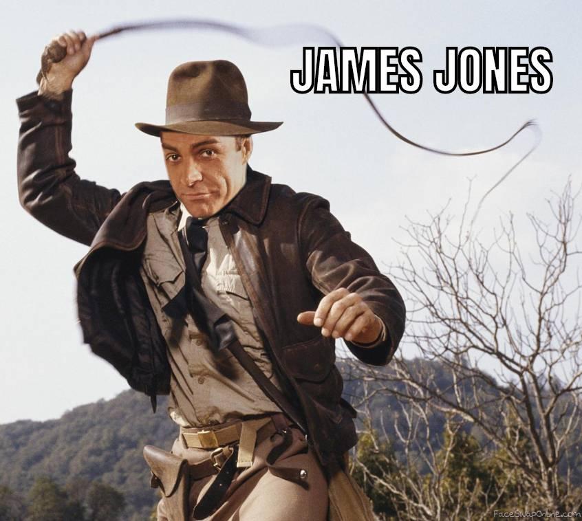 James Bond as Indiana Jones