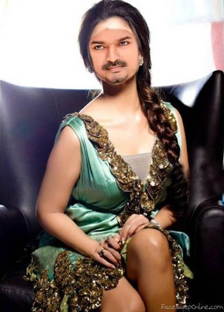 Vijay face swap