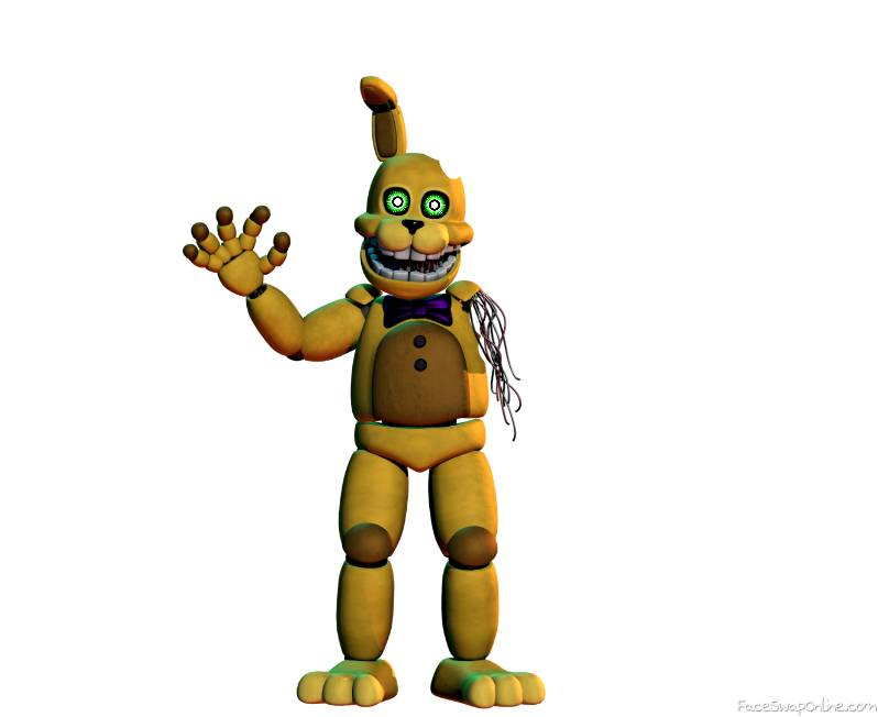 Withered Pit Springbonnie ( into the pit)