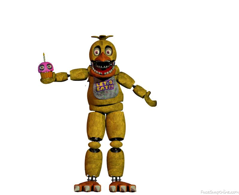 Fixed Withered Chica