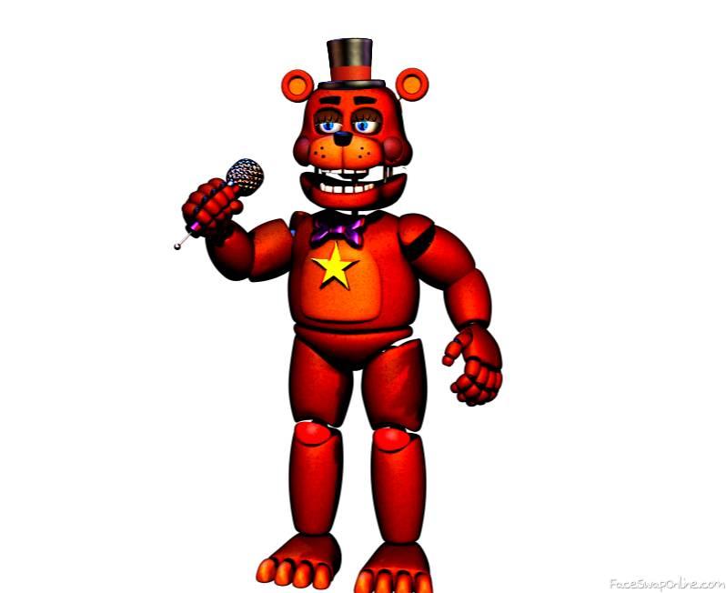 Rockstar Toy Freddy