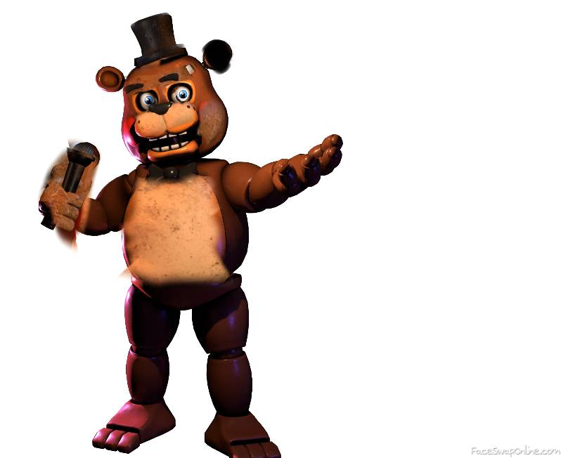TOY FREDDY + FREDDY FAZBEAR + HARD MODE FREDDY = HARDMODE TOY FAZBEAR