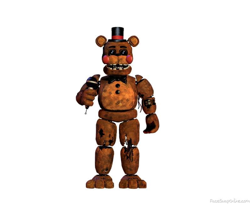 Toy Withered Freddy