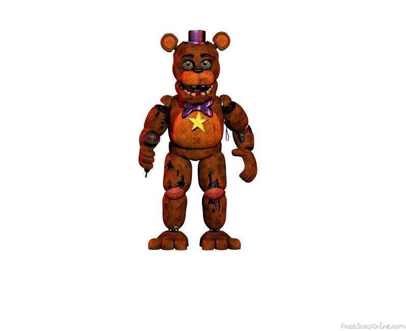 WIthered Rockstar Freddy