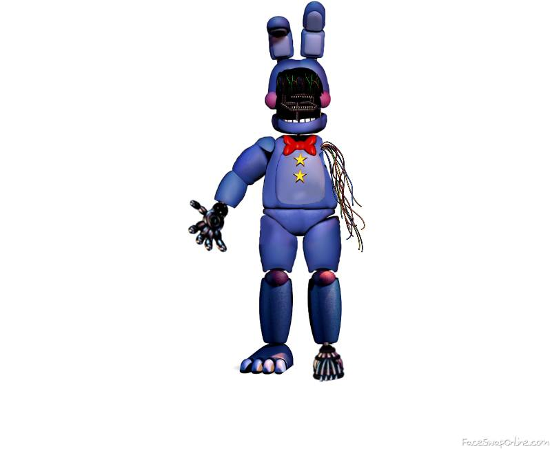 Withered Rockstar Bonnie