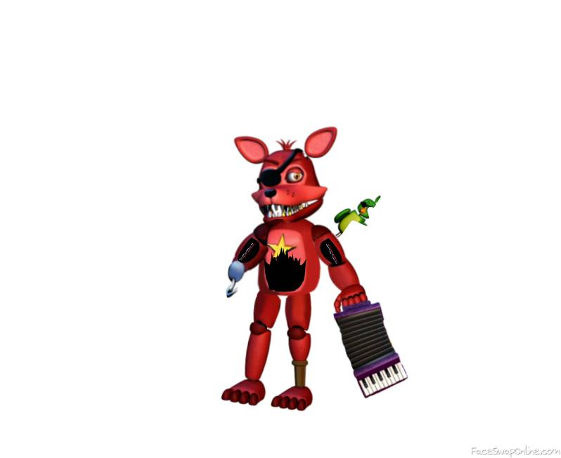 Withered Rockstar Foxy