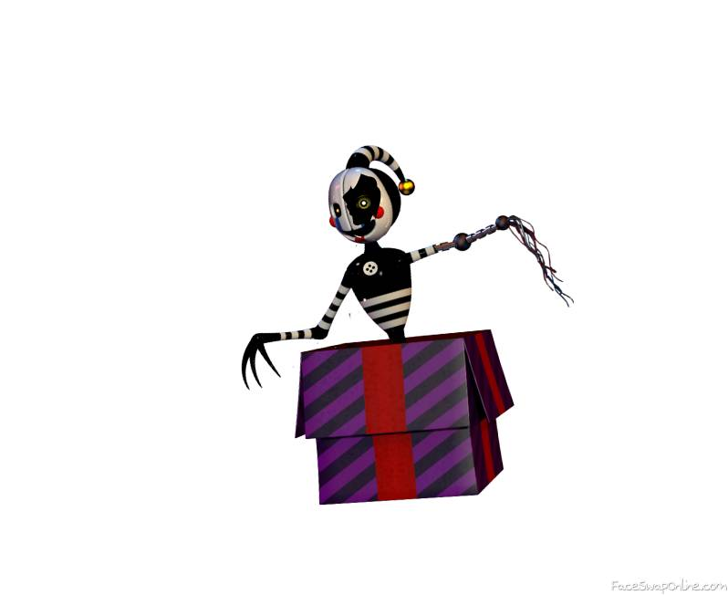 Withered Security Puppet