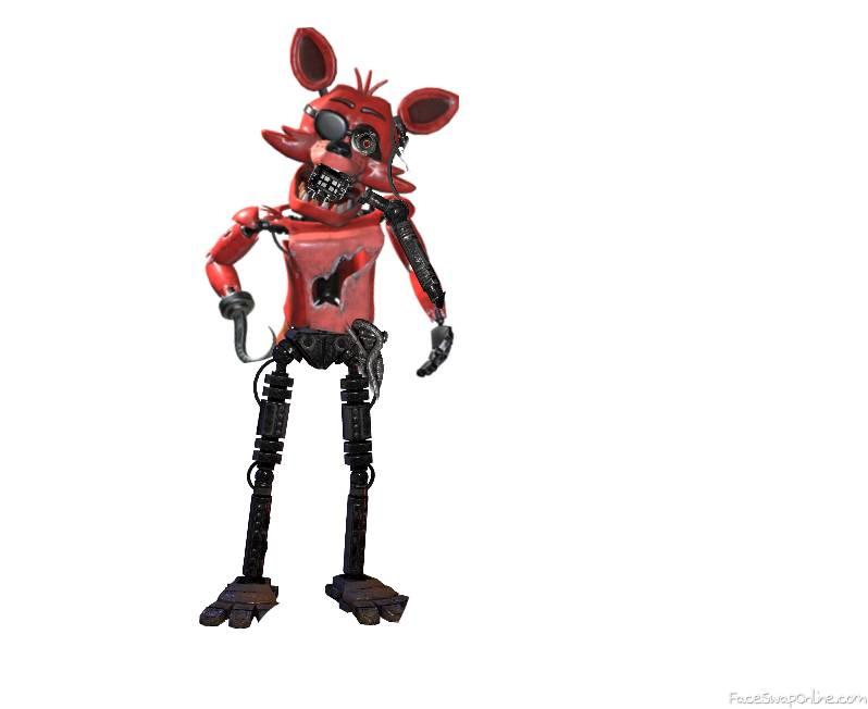 a pretty broken foxy