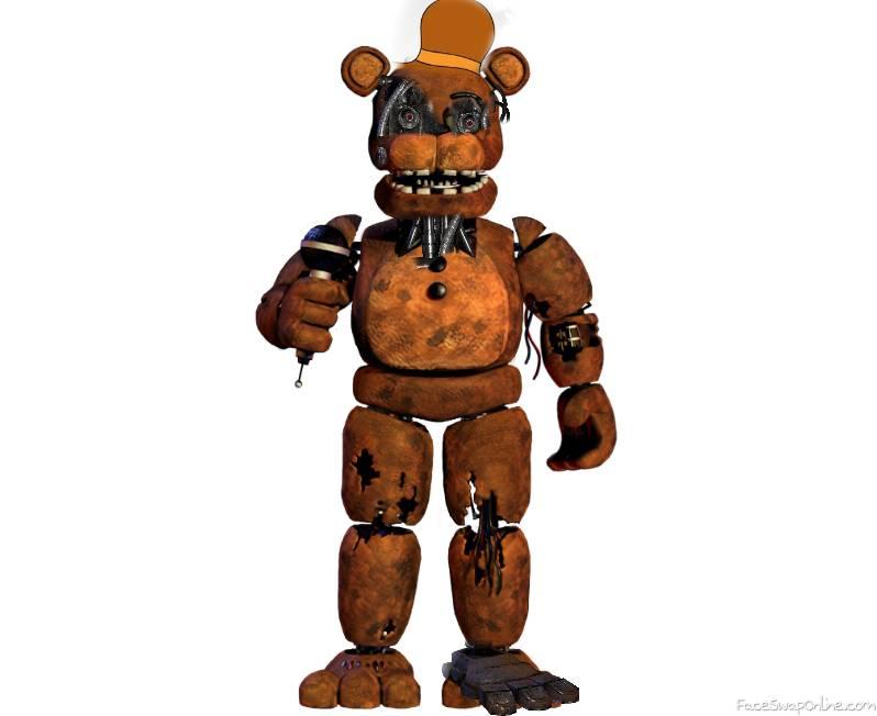 bearsteain bear papa bear but in fnaf 2