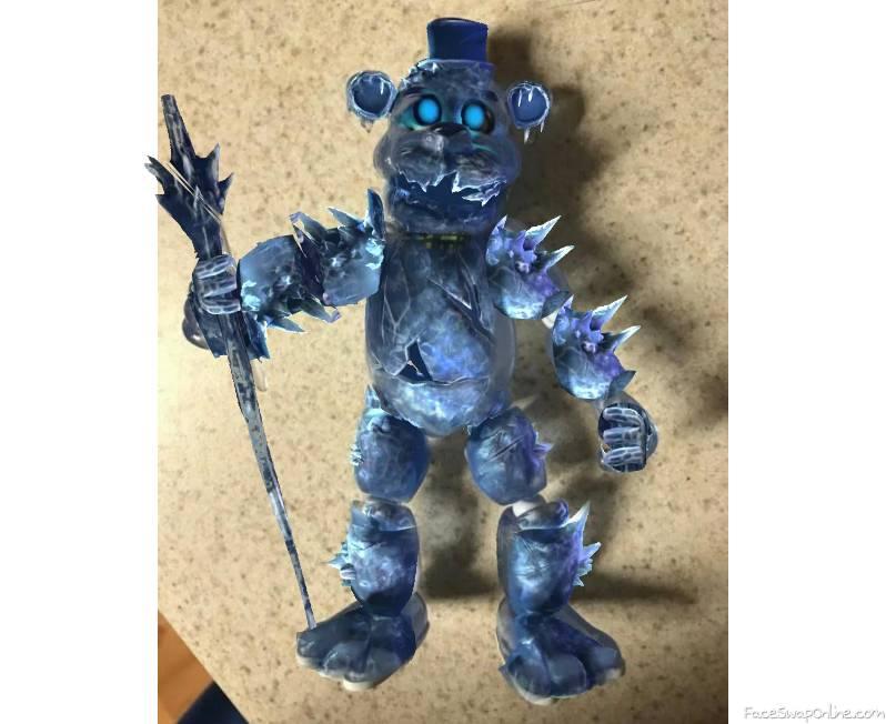 black ice freddy  toy