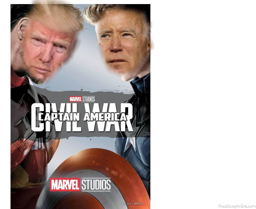 iron trump vs captain biden