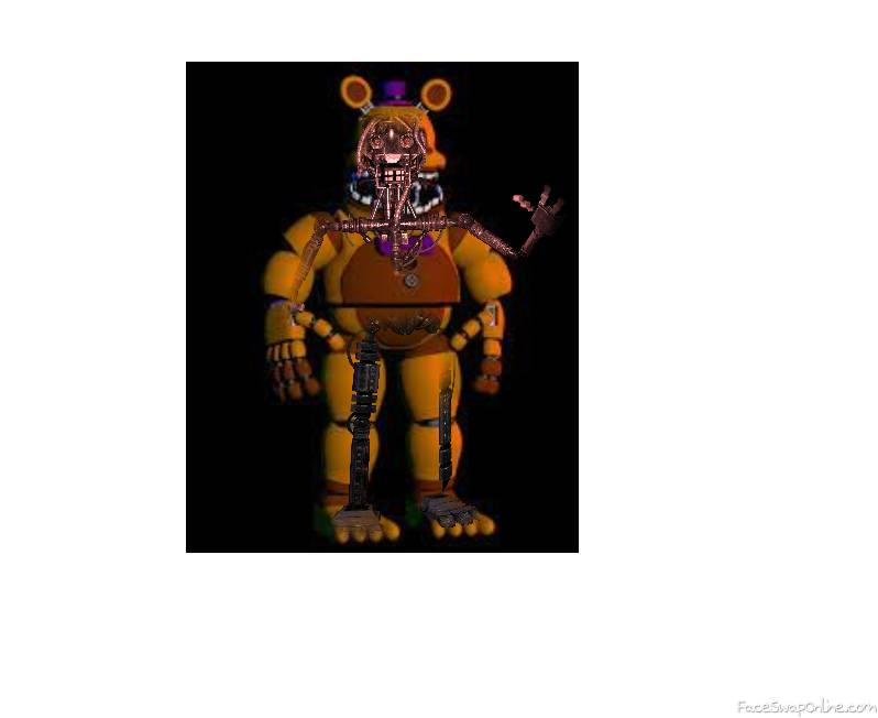 whats inside Fred bear unnightmare