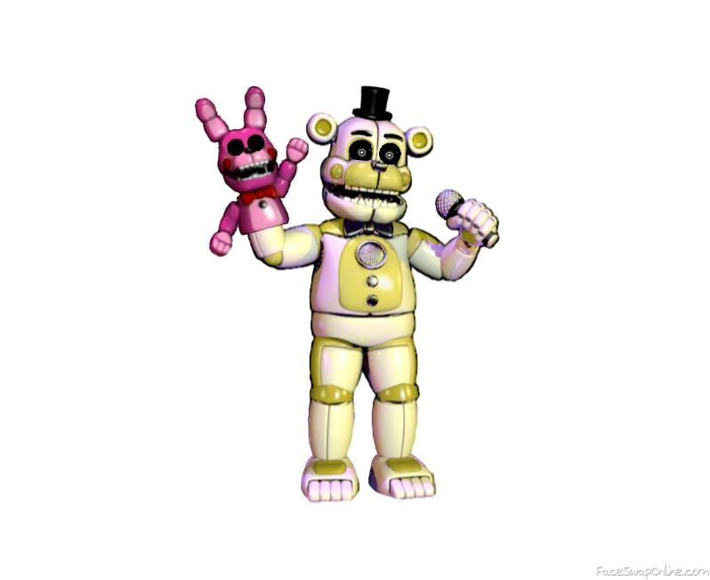 Golden Funtime Freddy