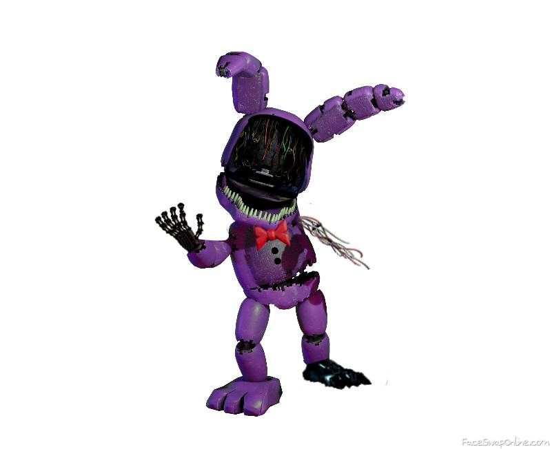 Plushtrap Withered Bonnie