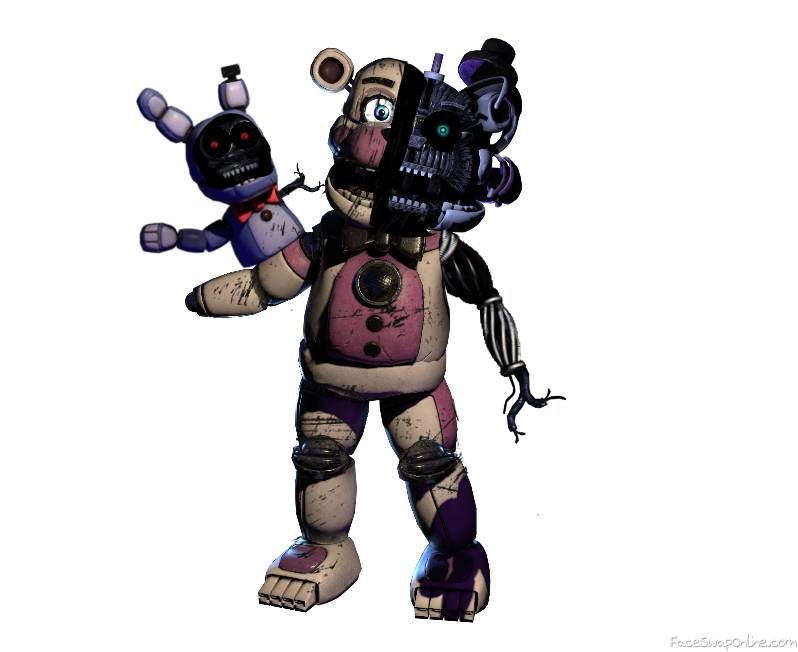 Withered Funtime Freddy ( remake)