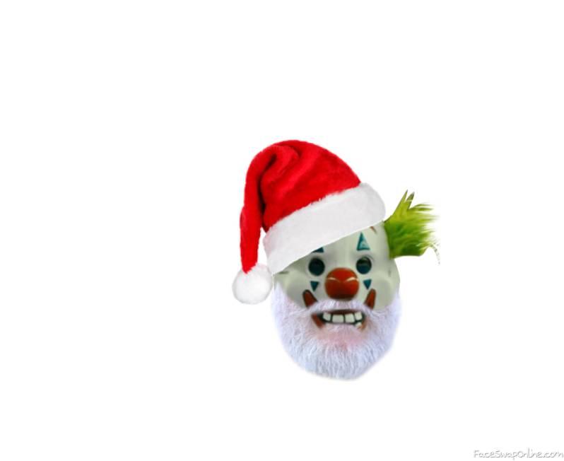 Clown Santa!!!