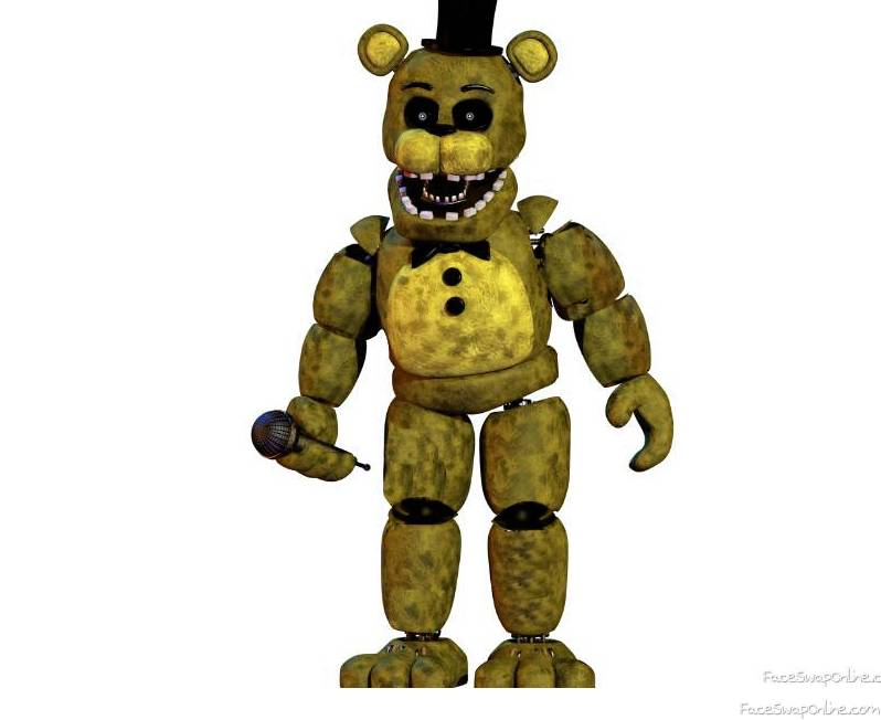 Fixed Withered golden freddy ( unwithered golden freddy) for others 😁