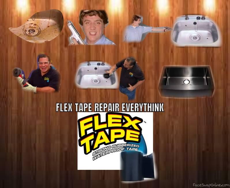 Flex tape power