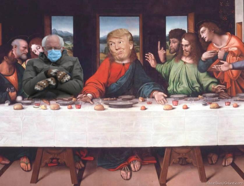 Last Supper meme
