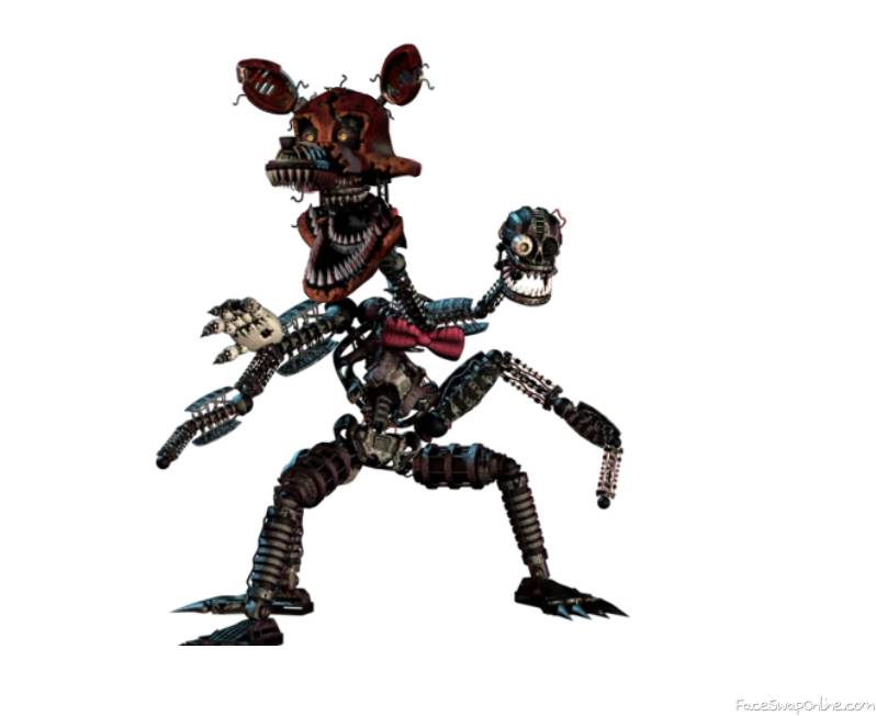 Nightmare Mangle and Foxy swap