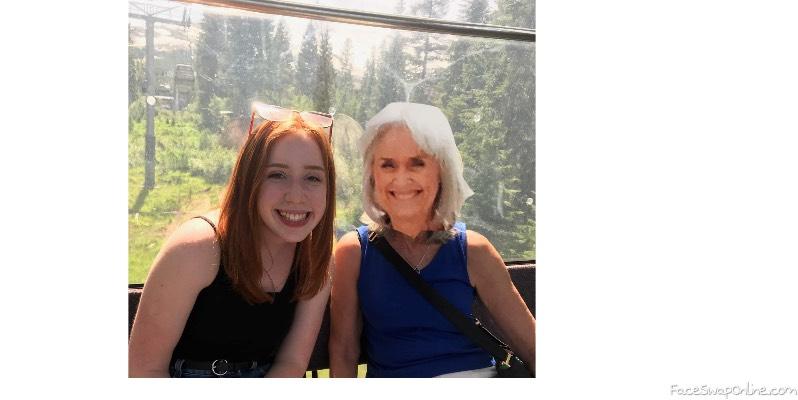 Piper and Grandma