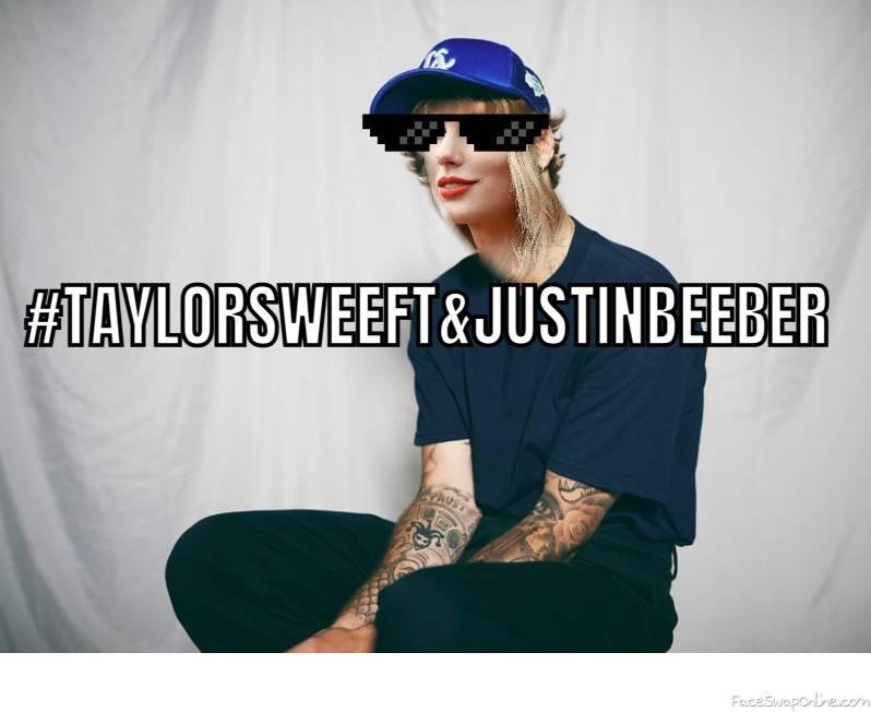 taylorsweeft and justinbeeber