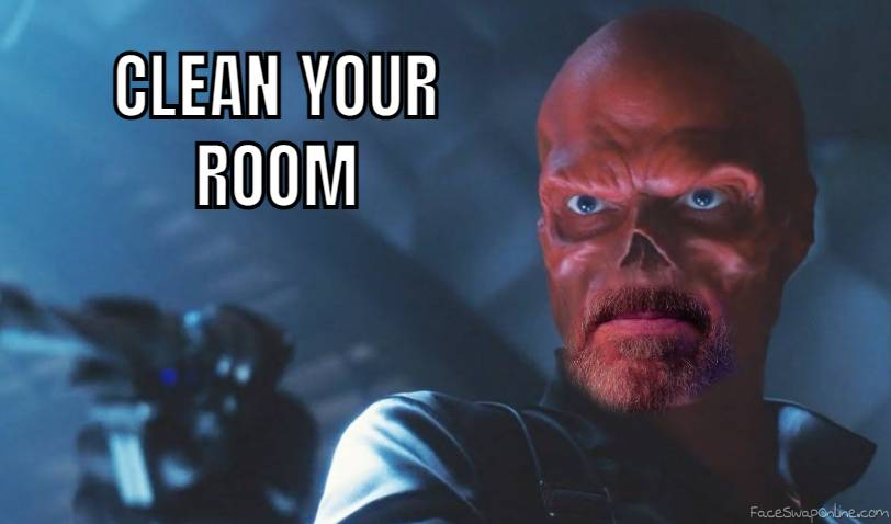 Red Skull - Clean Your Room mashup
