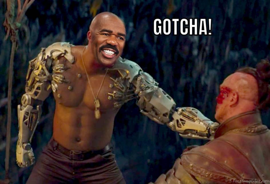 Steve Harvey as Jax in Mortal Kombat