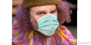 Homie the bad clown bus ready