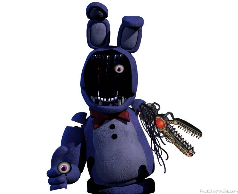 Scrap Withered Bonnie (  non withered scrap bonnie)