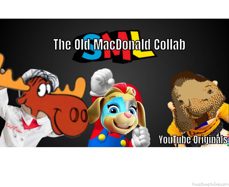 The Old MacDonald Collab poster