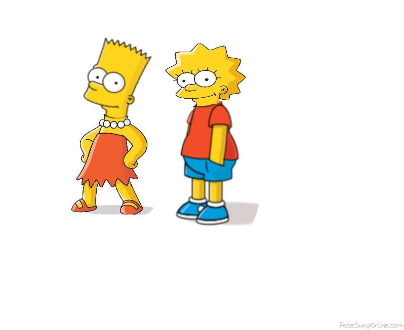 Bart and Lisa swap