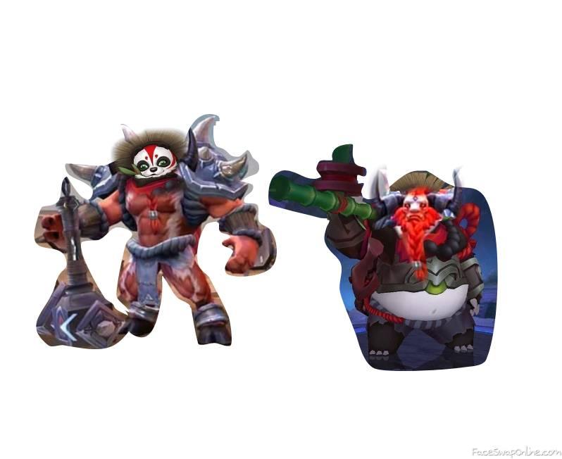 Minotaur Akai Mobile Legends Face Swap