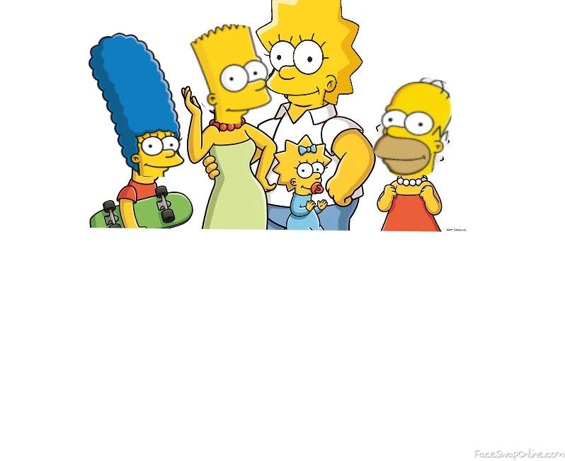 The Simpsons Gender Swap #1