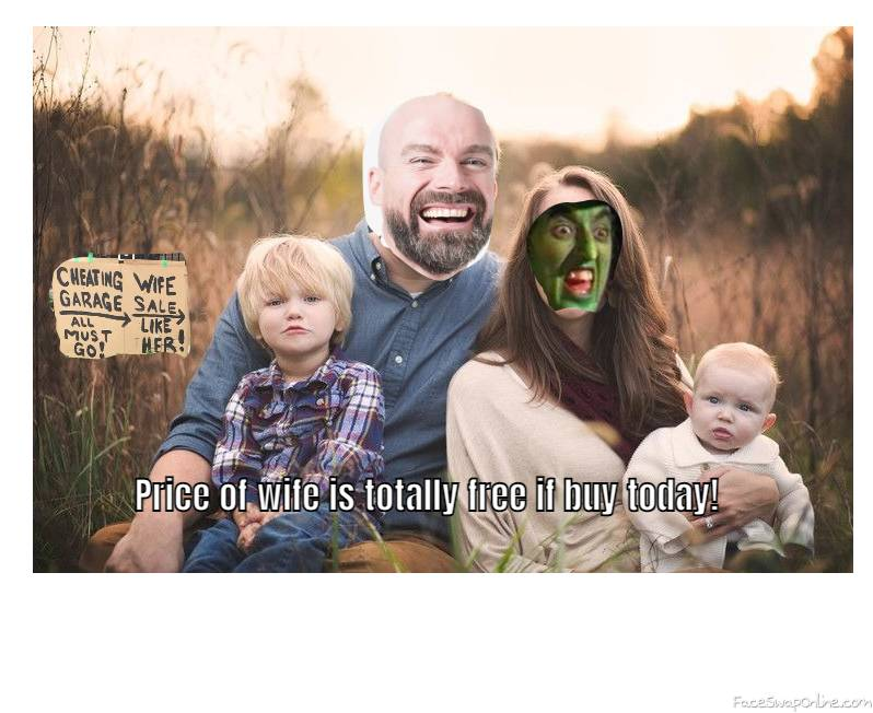 Bald Guy and Wicked Witch Of The West's Family Picture 2021