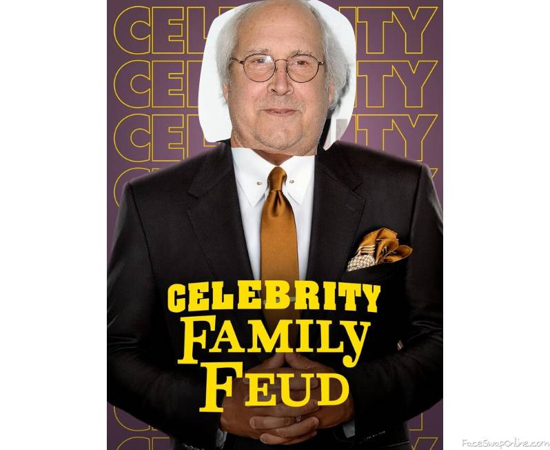 Chevy Chase guest hosts Celebrity Family Feud
