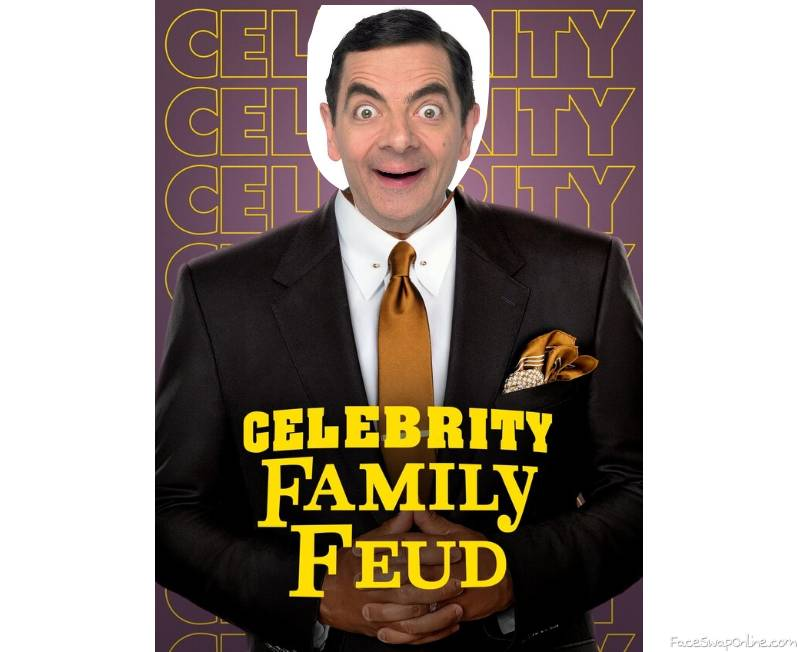Mr. Bean guest hosts Celebrity Family Feud
