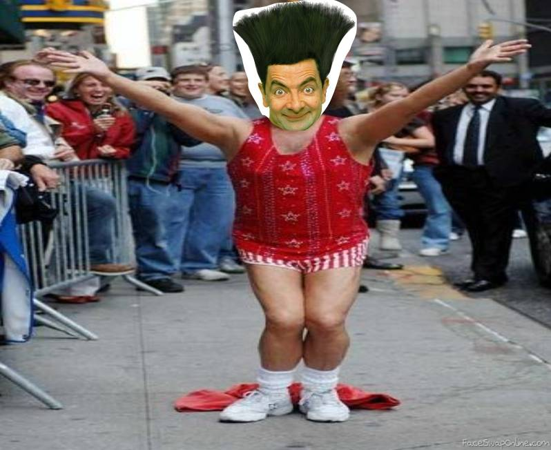 Mr. Bean's impersonation of Richard Simmons