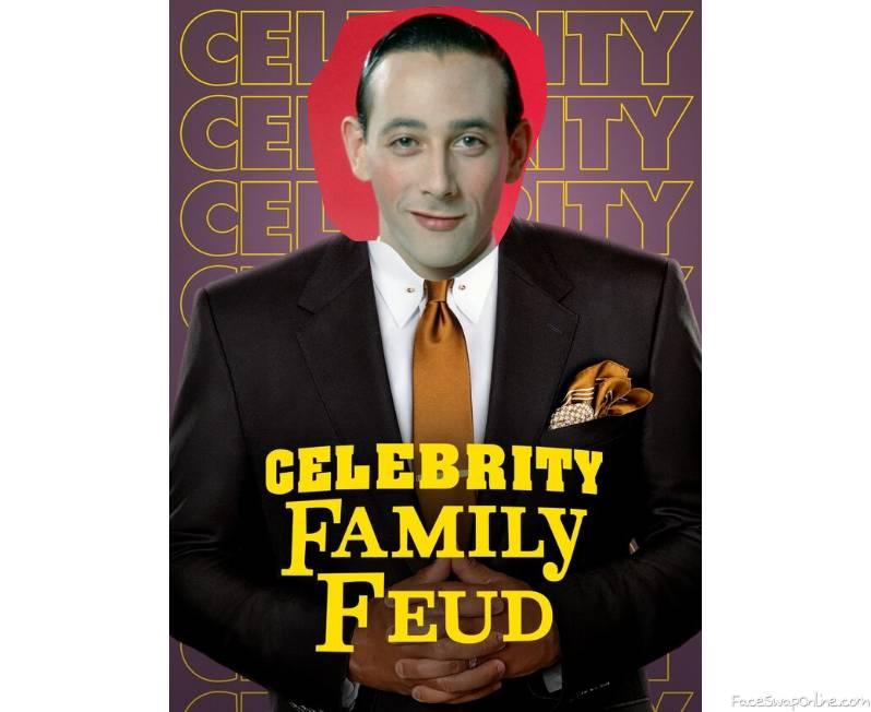Pee Wee Herman guest hosts Celebrity Family Feud