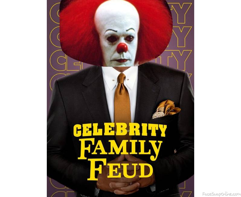 Pennywise guest hosts Celebrity Family Feud