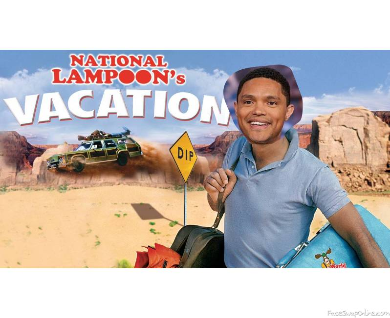 Trevor Noah in National Lampoon's Vacation