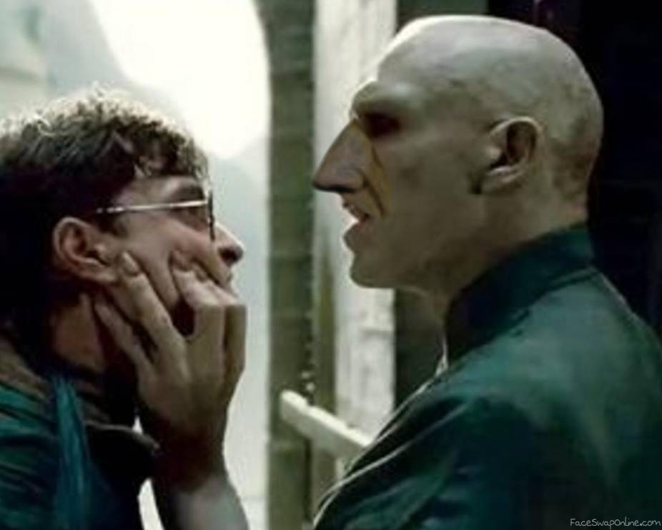 Voldemort with a Nose